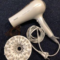Philips 2300w saç kurutma makinesi