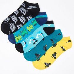 Socks 5 pairs per pack