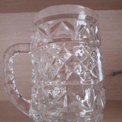 Crystal mugs. New ones.