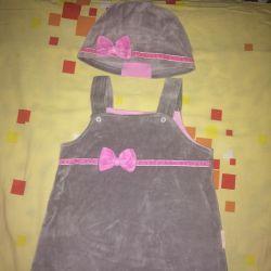 Şapkalı Sundress
