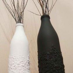 Decorative vase 2 pcs.