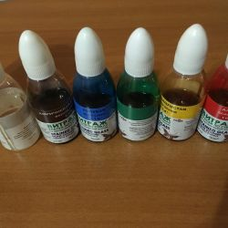 Stained paints
