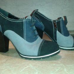 Suede Αγκώνας μπότες