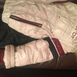 Winter overalls, 3-4 years, very warm !!!!!