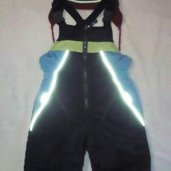 Semi-overalls fall-spring at 70-86cm + gift