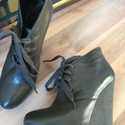 Bocanci, cizme din gleznă, Italia, 38p. Schimb / vânzare