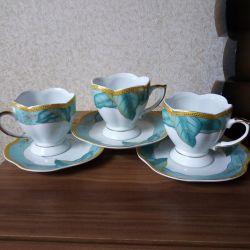New tea service.