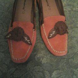 Yeni Tamarina 40 Kat Doğal Süet Ayakkabı