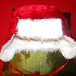 Noel Baba kış kulaklığı