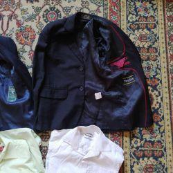 ,пиджаки,122/ 128-134/146/150см