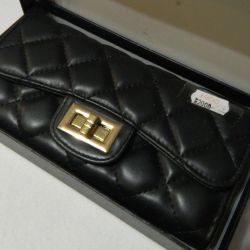 Women's purse black new