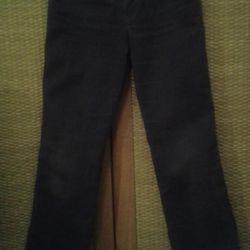 Corduroy Brown Jeans p. XS