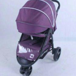 Коляска cool baby kdd-6799z сливовый