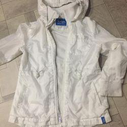 Kız sonbahar ilkbahar için ceket