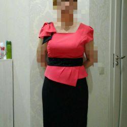 νέο όμορφο μέγεθος φόρεμα 46-48