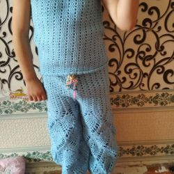 Knitting jasmine