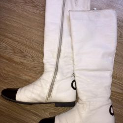 "Winter boots ""Chanel"" naturalka"