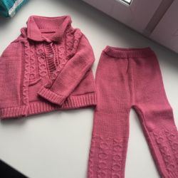 Knitted suit