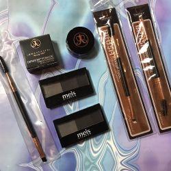 For eyebrows ❤️ brush fondant shadow brush
