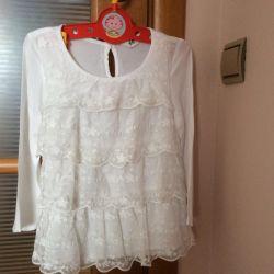 Блузка школьная H&M 8-9 лет