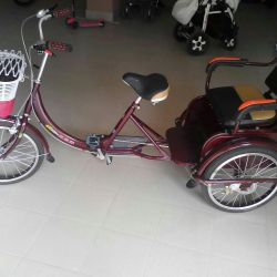 Tricycle with trunk