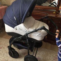 Stroller Zipy Verdi 3in1 in state new