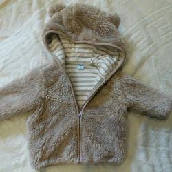 Children's plush jacket r.68