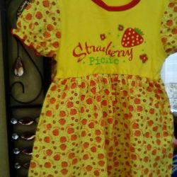 Νέο φόρεμα και μπλουζάκι για κορίτσια