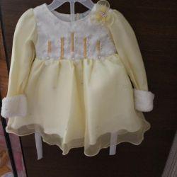 Платье детское нарядное Новое 80-86 (1-1,5)