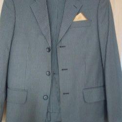Легкий костюм пиджак и брюки