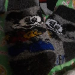 Çorap kullanılır.