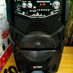 Karaoke Kimiso Bluetooth MP3 FM Karaoke