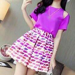 Stripe skirt, new