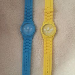 Sports watch, silicone strap