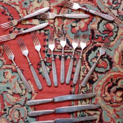 Forks. THE USSR. vintage