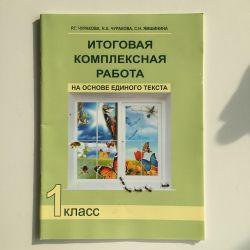 Η τελική σύνθετη εργασία 1 κλάσης R.G. Churakova