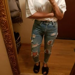 High Waist Bershka Jeans