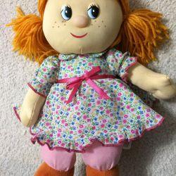 Rag talking doll
