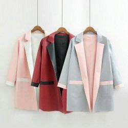 μάλλινο δερμάτινο παλτό