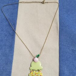 pendant with a chain