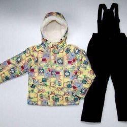 Έκπτωση! ️ Νέο κοστούμι πτώσης / χειμώνα 5-6 ετών