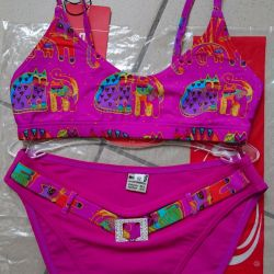 Pink swimsuit p 38-40