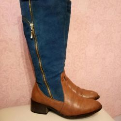 Boots Nat. leather p. 36-37