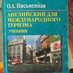 Turizm için İngilizce Kitap