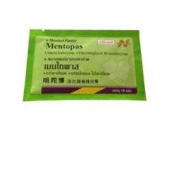 Обезболивающий пластырь Mentopas Таиланд