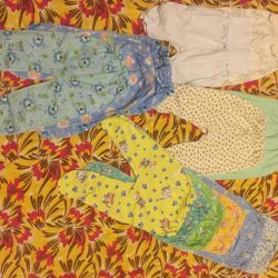 Clothing from birth to 68 size