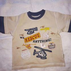 Çocuk bluzunun büyümesi 110