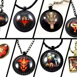 Diablo souvenir costume jewelry - gift decoration