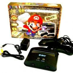 Денди приставка Dendy Mario 60 игр Новая