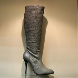 121. Autumn boots p.37,38,39, leather